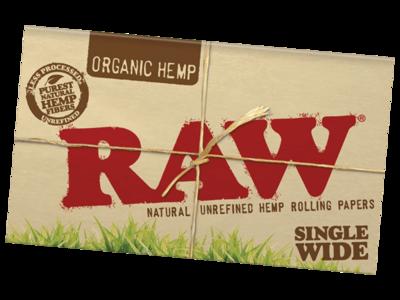 Raw Organic Single Wide