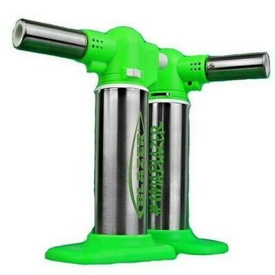 Blazer Big Buddy Torch - Green & Stainless