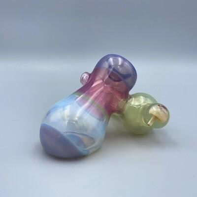CreepySpooky Glass (FL) Multi-Encalmo Sidecar Pipe
