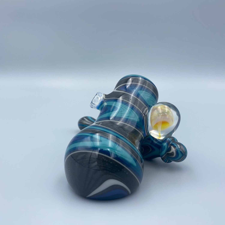 CreepySpooky Glass (FL) Linework Sidecar Pipe