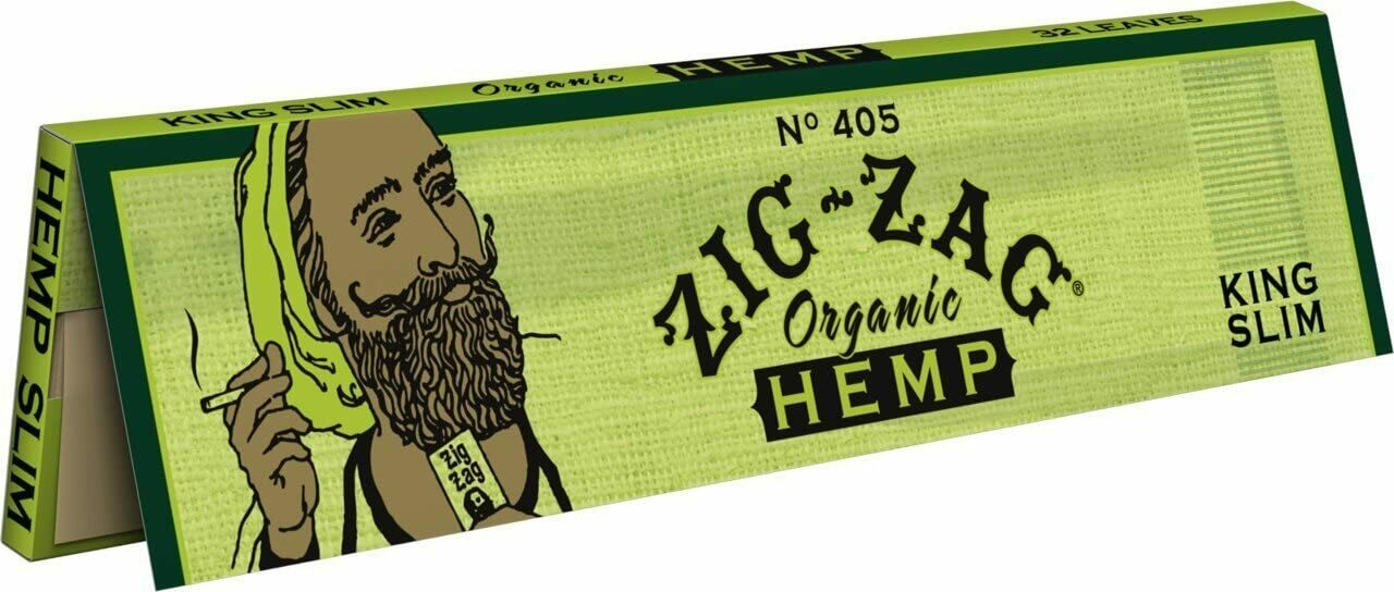 Zig Zag Organic Hemp King Size Rolling Papers