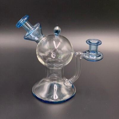 Lid Glass (FL) Color Accent Layback - Blue