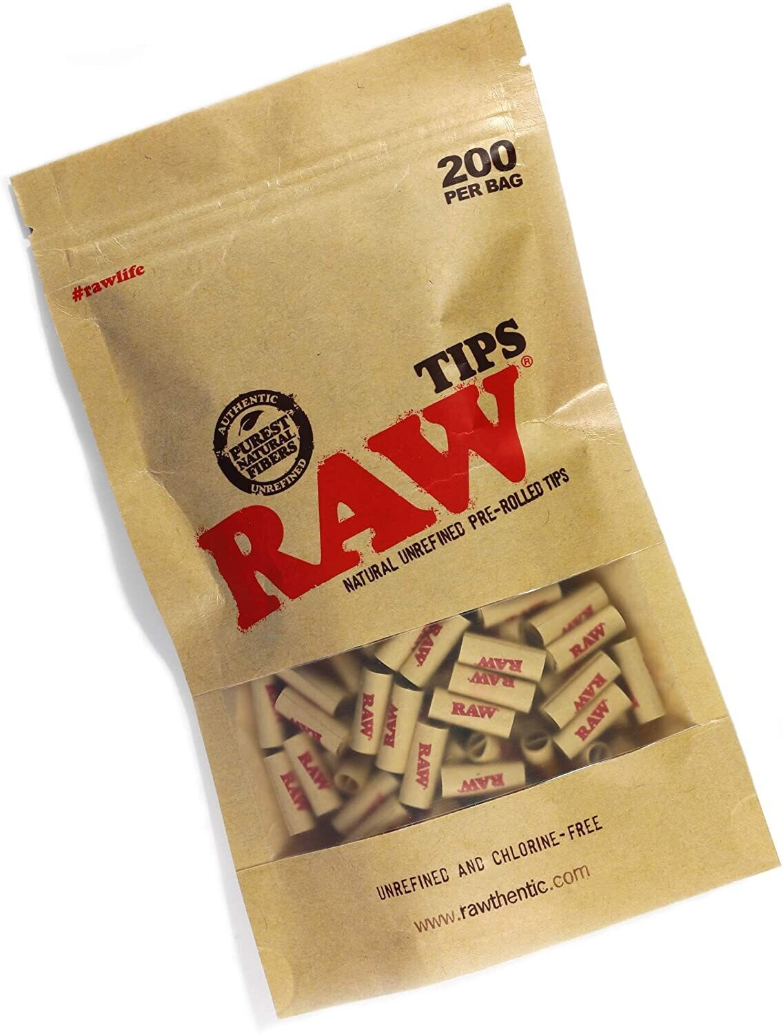 Raw Classic Pre Rolled Tips 200ct