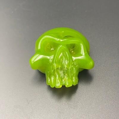 Grime Glass (CO) Skull Pendant