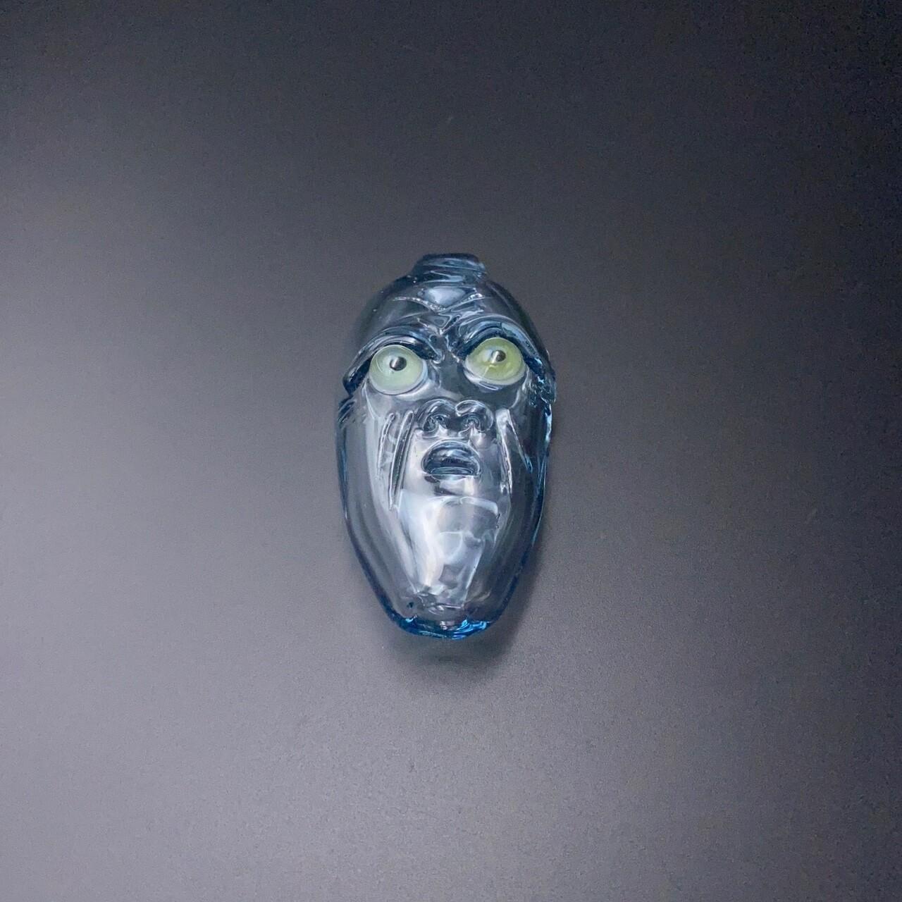 Senoih (FL) Face Taster - Blue w Green Eyes