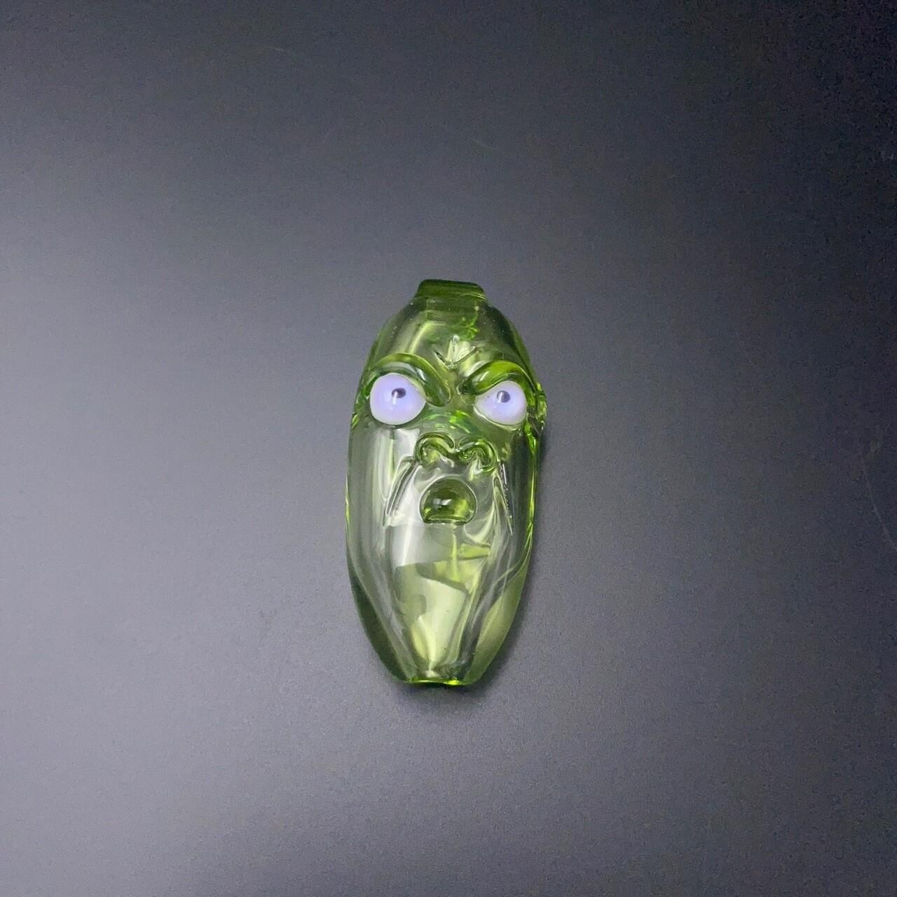 Senoih (FL) Face Taster - Green w Purple Eyes