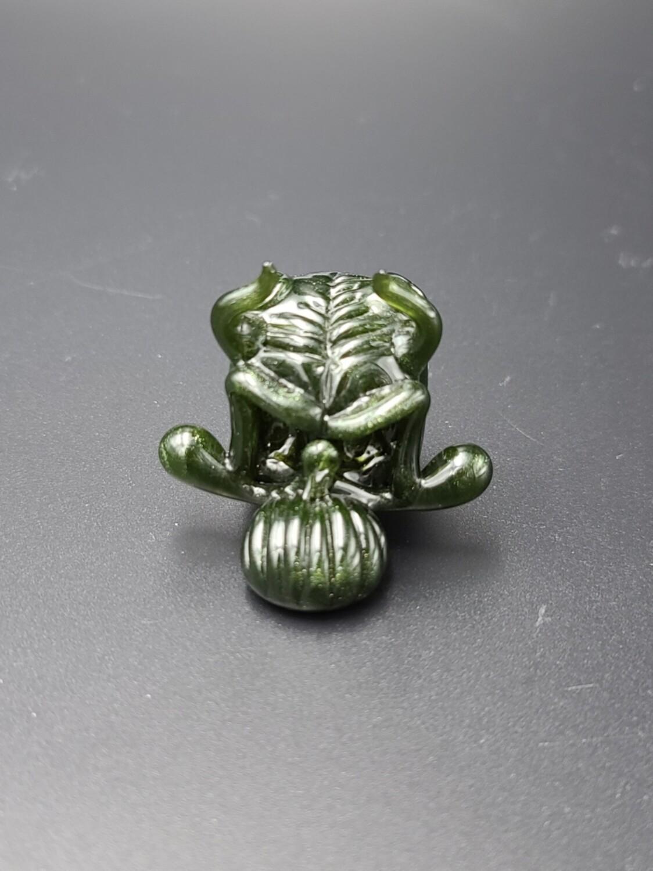 Lid Glass (FL) Demon Skull Pendant - Mighty Moss