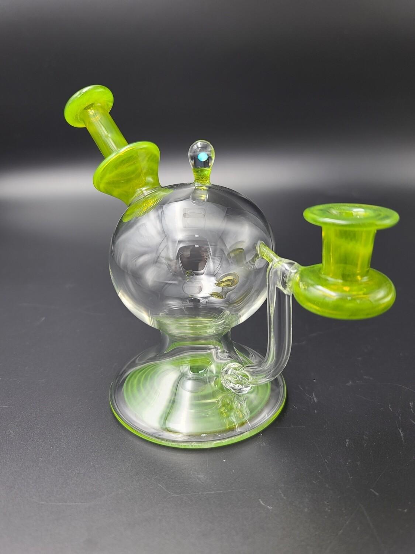 Lid Glass (FL) Color Accent Layback - Lime Drop