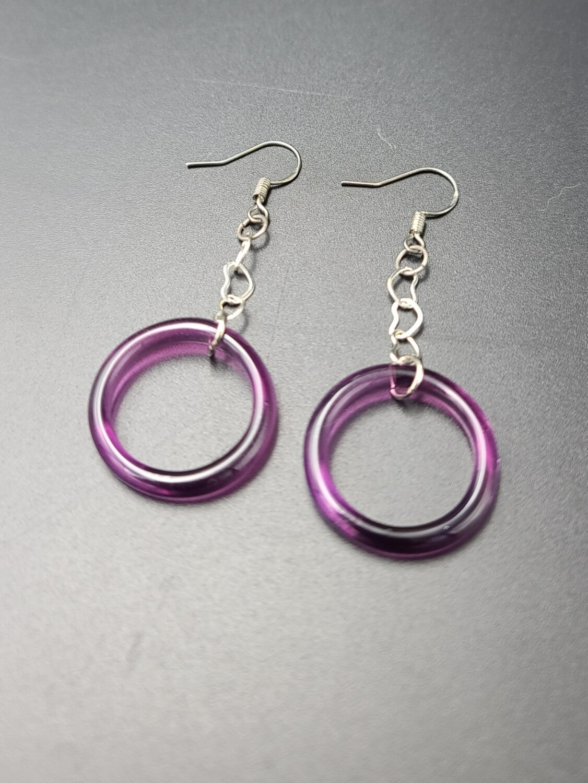 Marni OG Ring Earring Set - Nightshade