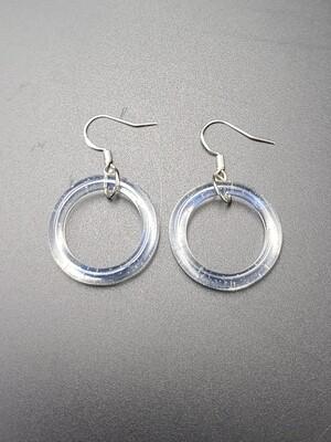 Marni OG Ring Earring Set - Ghost