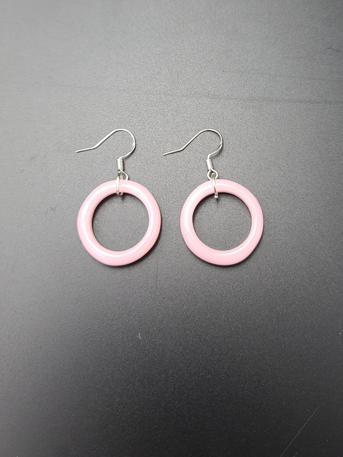 Marni OG Ring Earring Set - Pink Cadillac (Opaque Pink)