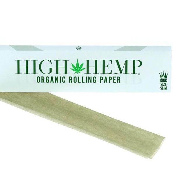 High Hemp Rolling Papers King Size Slim