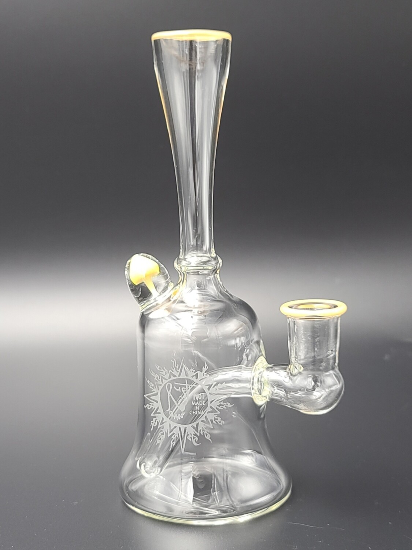 Rusty Glass (FL) 14mm Mushy Rig w. Color Accent - Cream