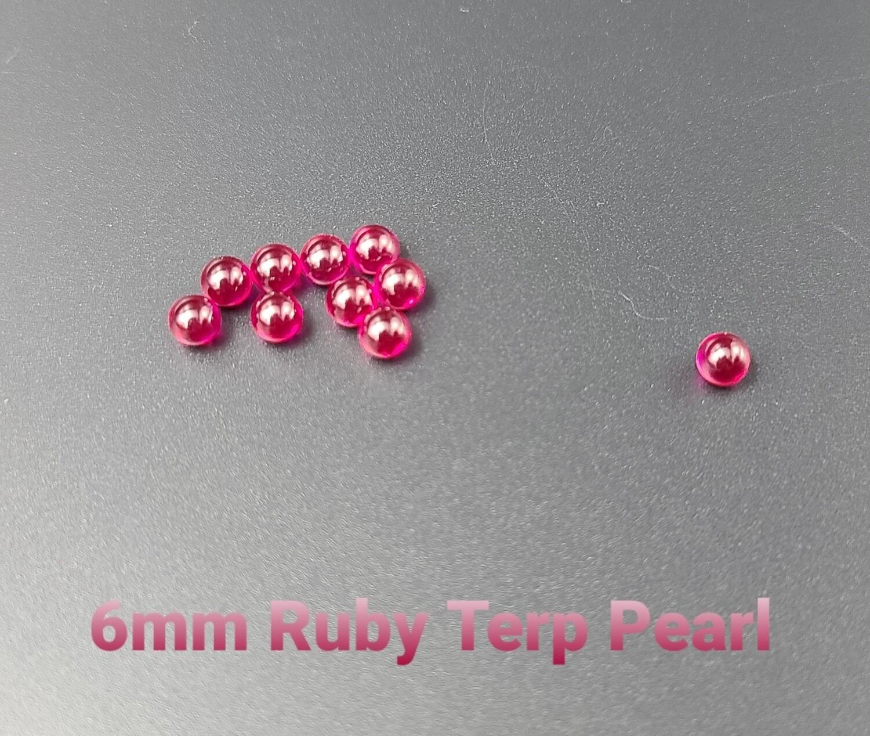 Ruby Terp Pearl 6mm