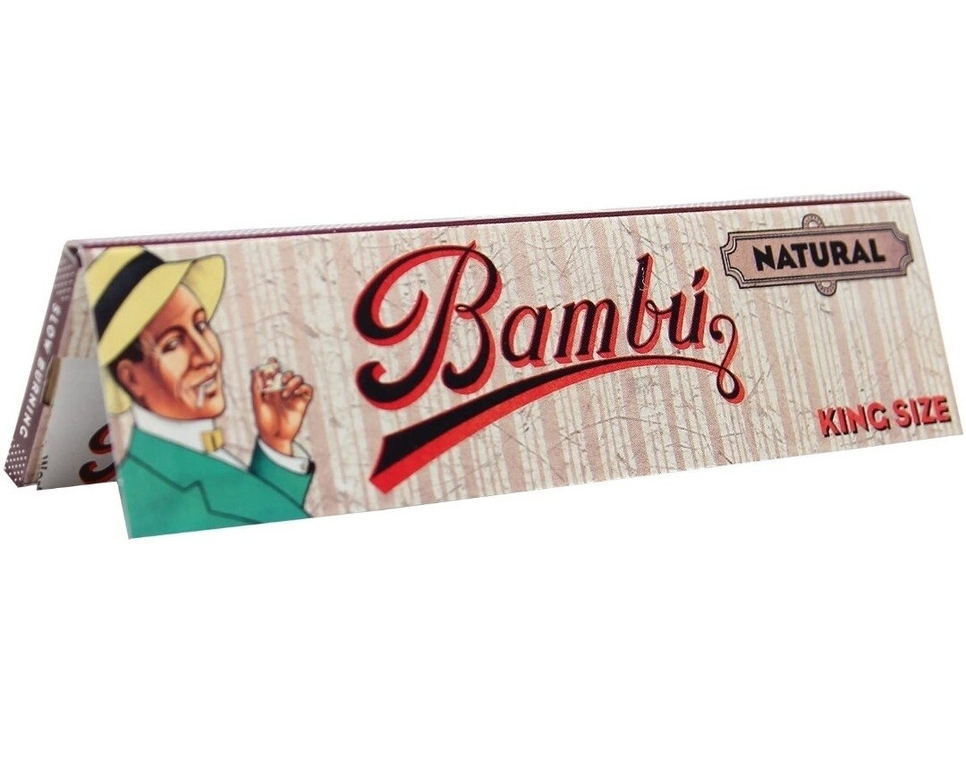 Bambu Natural Rolling Papers King Size