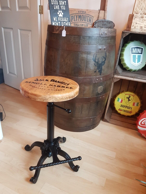 Cast iron stool