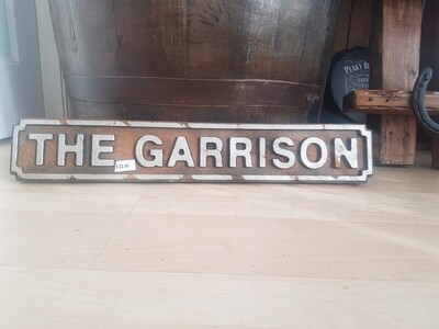 The garrison peaky blinders