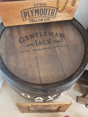 Competition  Whiskey barrel