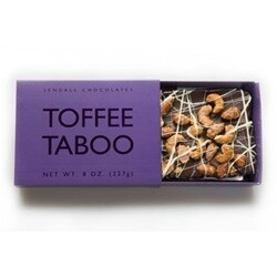 Toffee Taboo 8oz Dark Chocolate