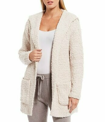 Barefoot Dreams Boucle Hooded Cardi