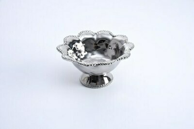 Pampa Bay Silver Footed Bowl
