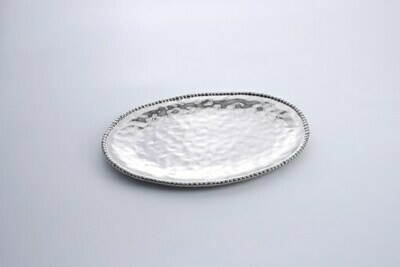 Pampa Bay Large Silver Oval Platter