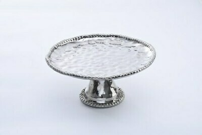 Pampa Bay Silver Cake Stand