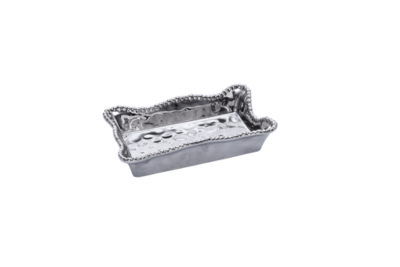 Pampa Bay Silver Dinner Napkin / Guest Towel Holder
