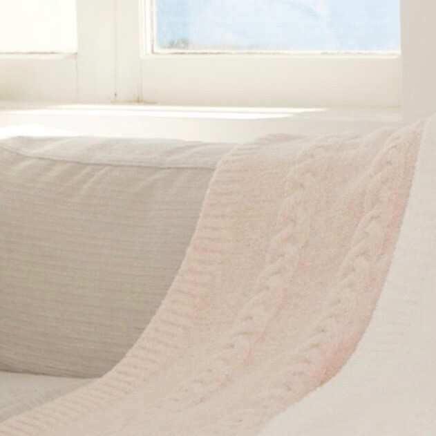 CozyChic Heathered Baby Blanket by Barefoot Dreams