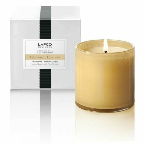 Lafco Chamomile Lavender Candle, Master Bedroom