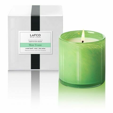 Lafco Mint Tisane Candle, Meditation Room