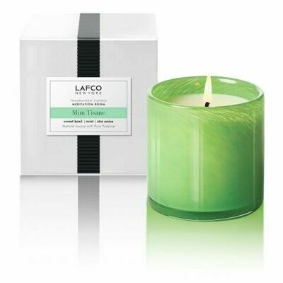 Lafco Mint Tisane Candle, Meditation Room