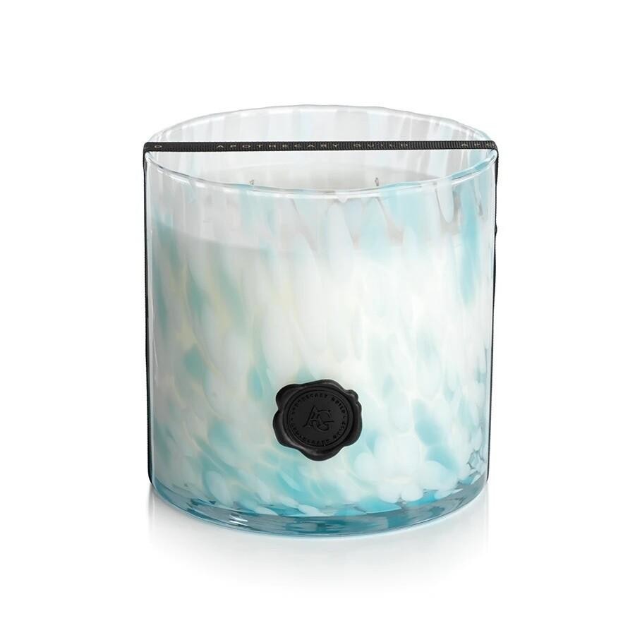 Sunset Beach Glass Candle