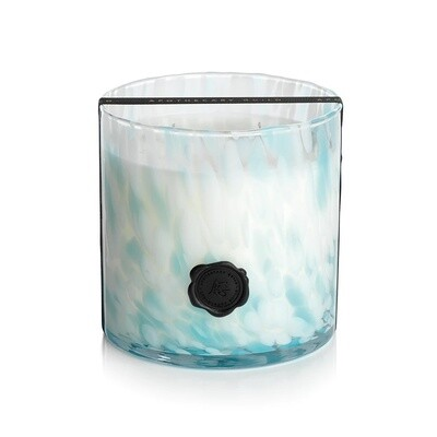 Sunset Beach Glass Candle
