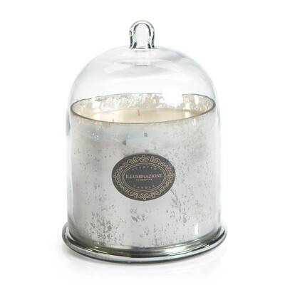 Red Currant Candle with Glass Cloche