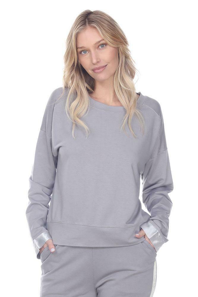 PJ Harlow Izzy Sweatshirt Silver XS