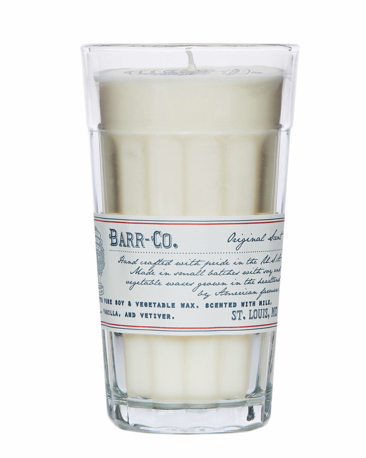 Barr-Co Original Scent Parfait Glass Candle