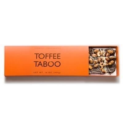 Toffee Taboo 16oz Milk/Dark Chocolate Box