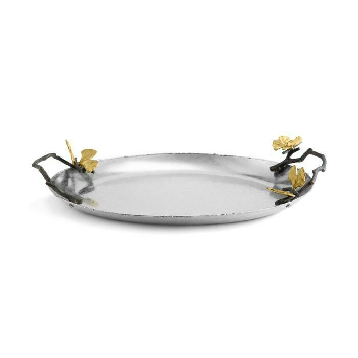 Butterfly Gingko Medium Tray Michael Aram