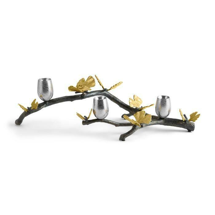 Butterfly Ginkgo Branch Centerpiece