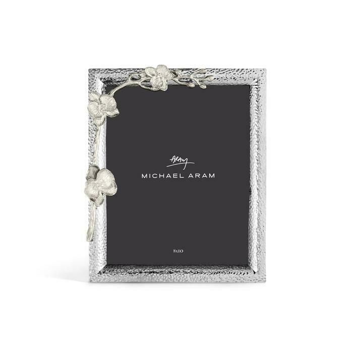 White Orchid Frame 8x10