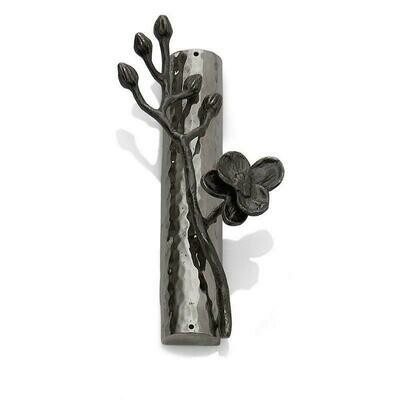 Black Orchid Mezuzah by Michael Aram