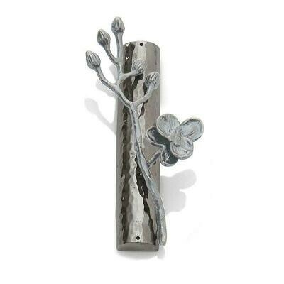 White Orchid Mezuzah by Michael Aram