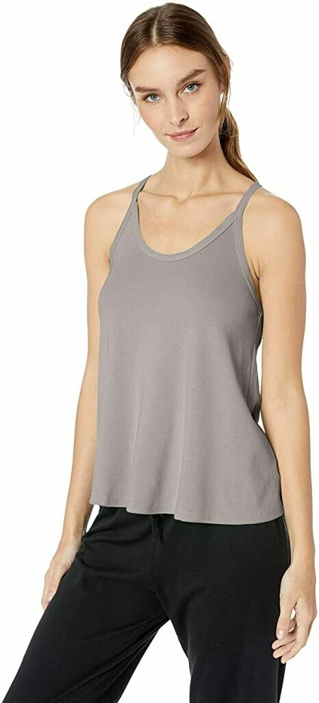 PJ Harlow Cami Rib Knit Silver XL