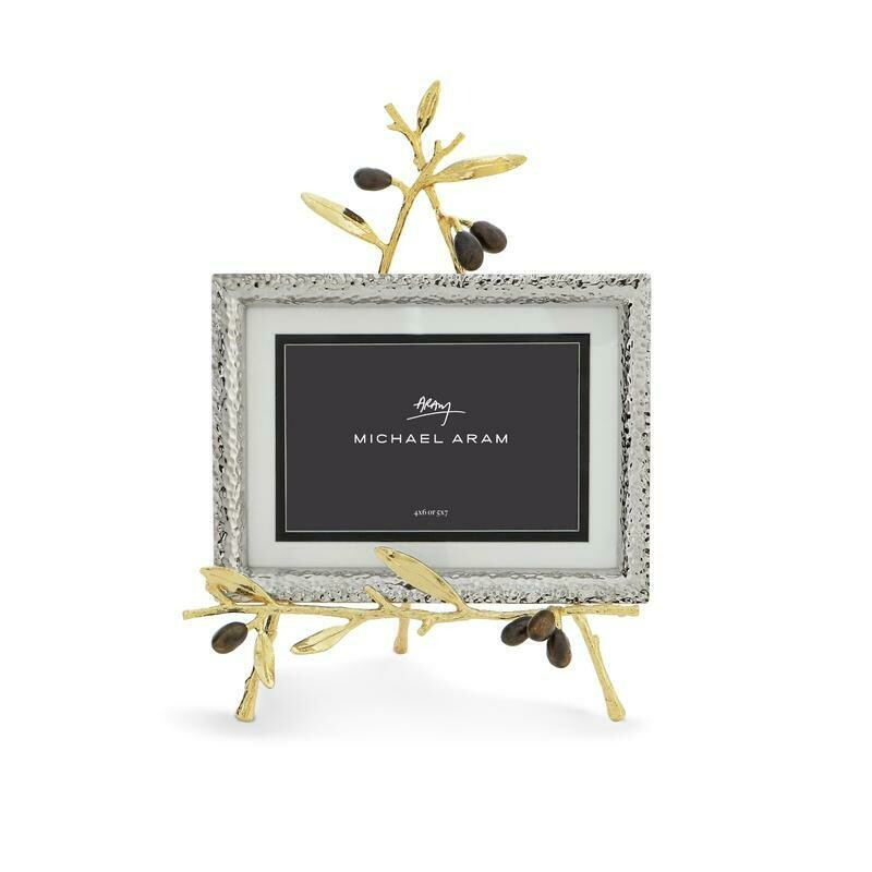Olive Branch Gold Easel Frame by Michael Aram