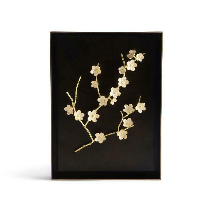 Cherry Blossom Shadow Box by Michael Aram