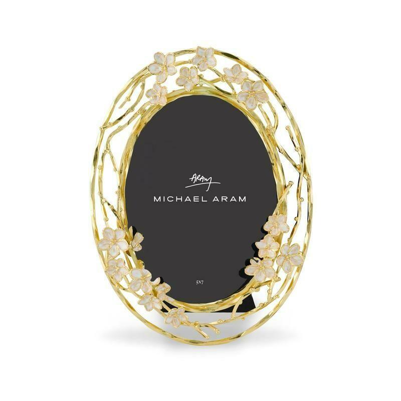 Cherry Blossom Oval Frame 5x7 by Michael Aram