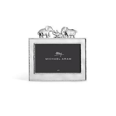 Michael Aram Silver Elephant Frame 4 x 6