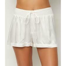 PJ Harlow Mikel Satin Shorts Pearl XL