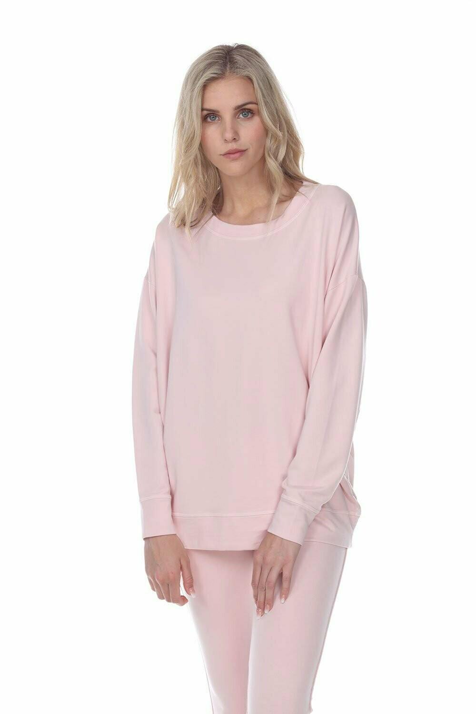 PJ Harlow Taylor Sweatshirt Blush L